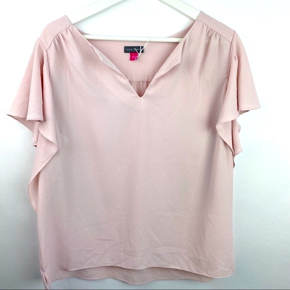 Vince Camuto blouse with flowy sleeves